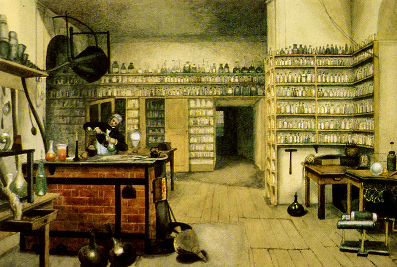 Faraday en el laboratorio