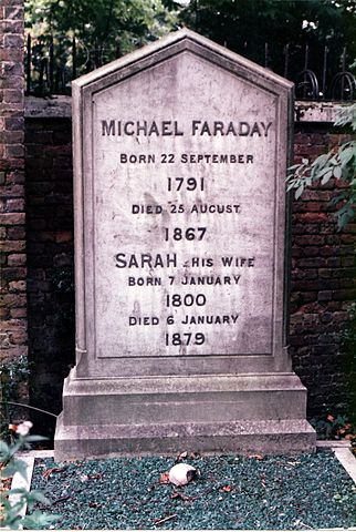 Tumba de Michael Faraday